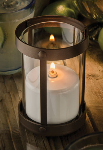 Aurora Candle Glass Container