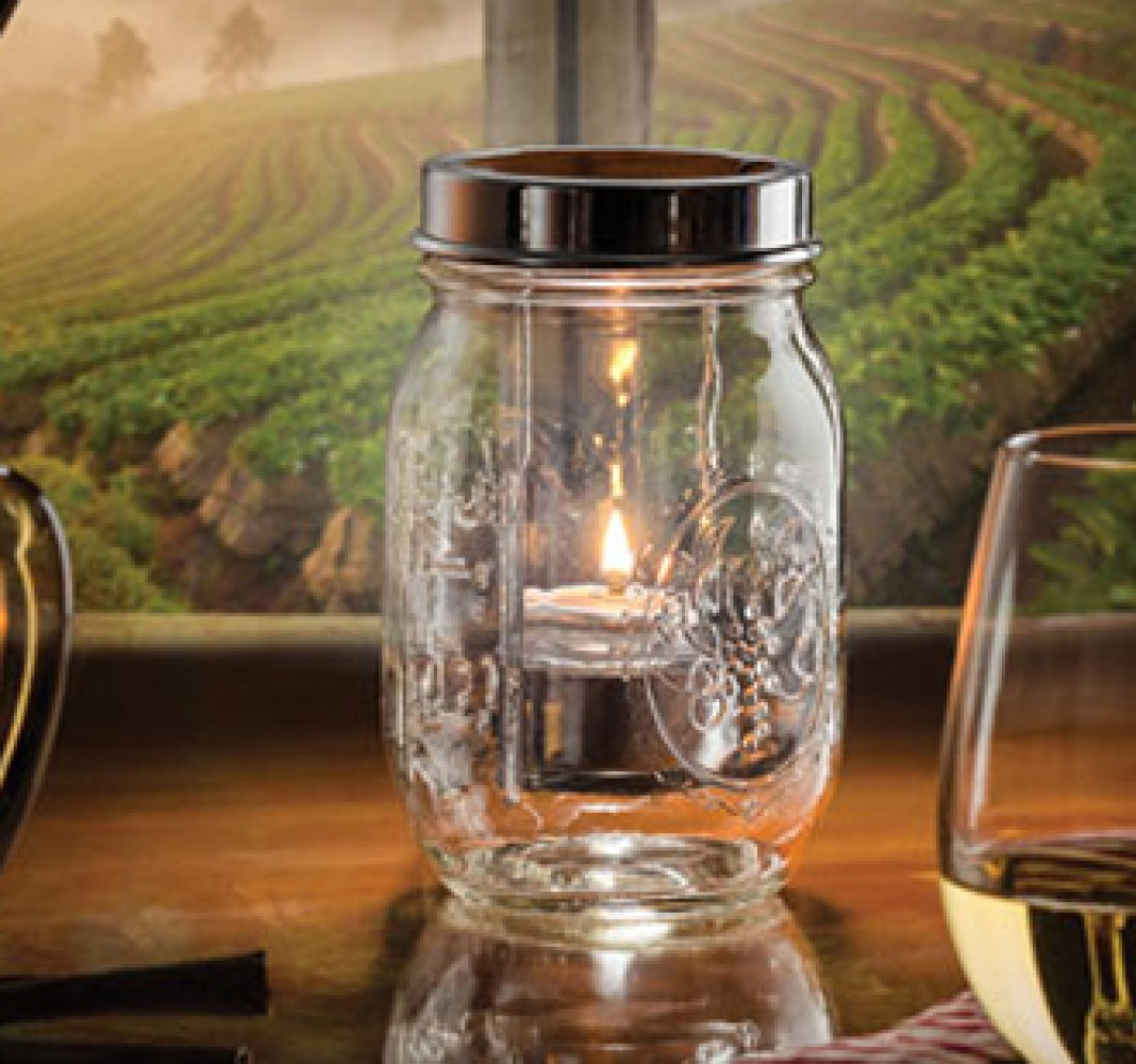 Firefly Candle Glass Container