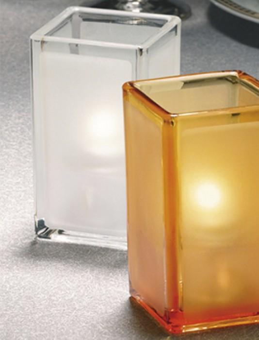 Quad Votives Glass Container